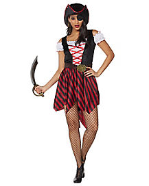Adult Blimey Beauty Pirate Costume
