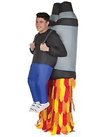Adult Jet Pack Inflatable Costume