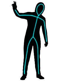 Adult Light-Up Stick Figure Costume