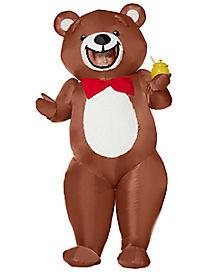 Adult Teddy Bear Inflatable Costume