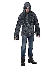 Adult Hooded Horror Shredded Shirt