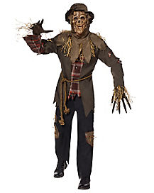 Mens Halloween Costumes  mad doctor with bloody overcoat /& face mask Small /& Med
