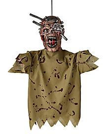 Half Body Hanging Zombie - Decorations