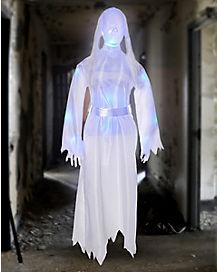 5 Ft Light-Up Translucent Girl Hanging Prop - Decorations
