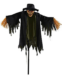 Zombie Scarecrow Bloody Prop Sickle