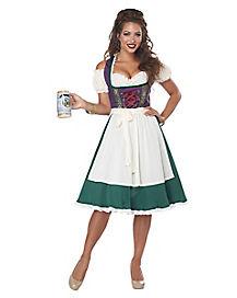 Adult Barvarian Beer Maid Costume