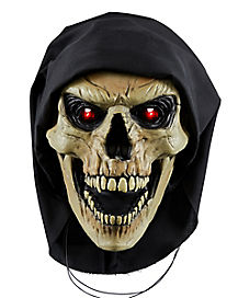10 Inch Light-Up Talking Reaper Door Knocker Decoration