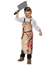 Kids Bloody Butcher Costume Kit