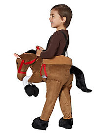 Toddler Ride-Along Horse Costume