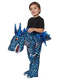 Toddler Ride-Along Dragon Costume