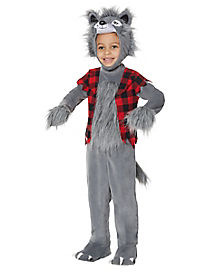 Toddler Howling Wolf Costume