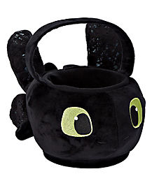 Kids Toothless Plush Treat Bag - How to Train Your Dragon