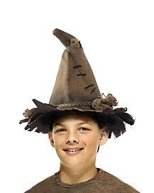 Kids Scarecrow Burlap Hat