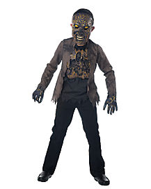 Kids Scorched Zombie Costume