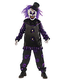 Kids Big Top Terror Clown Costume