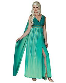 Adult Warrior Queen Costume Dress