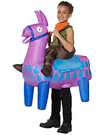 Kids Giddy Up Inflatable Costume - Fortnite