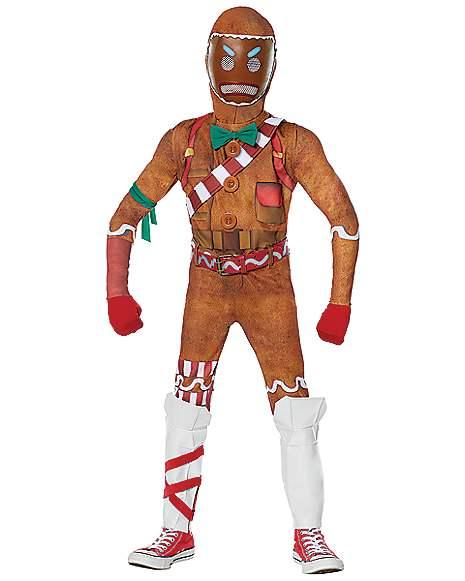 Battle Royale jeu Joyeux Marauder Ginger artilleur Halloween Enfants Costume