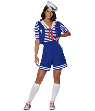 Stranger Things adult Robin Scoops Ahoy costume