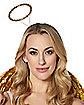 Goldtone Rhinestone Angel Headband