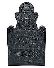30 Inch Billy Butcherson Tombstone Decorations - Hocus Pocus