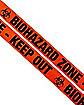 Biohazard Tape - Decorations