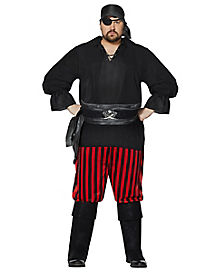 Adult Pirate Plus Size Costume