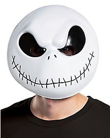 Jack Skellington Mask Deluxe - The Nightmare Before Christmas