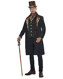 Adult Lord Steampunk Man Costume