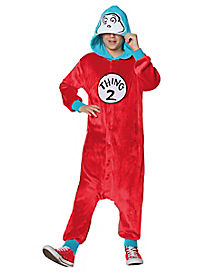 Kids Thing 1 Union Suit - Dr. Seuss