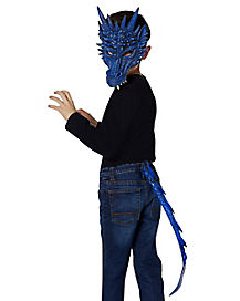 Kids Dragon Tail and Mask Kit