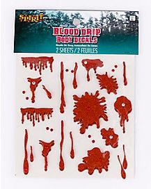 Blood Drip Body Decals
