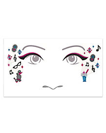 Kids 50s Face Decal