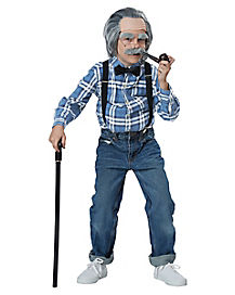 Kids Old Man Costume Kit