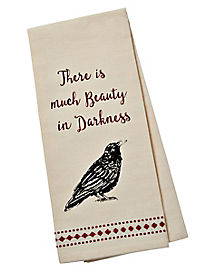 Beauty in the Dark Forest Dish Towel