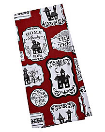 Home Spooky Home Dish Towel