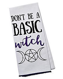Basic Witch Dish Towel