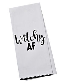 Witchy Dish Towel