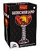 Gothic Noir Rose Lamp
