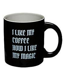 Black Coffee Mug - 20 oz.