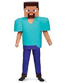 Kids Steve Costume Deluxe - Minecraft