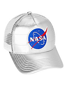 Metallic NASA Hat