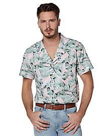 Hopper Button Down Shirt - Stranger Things