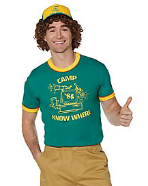 Camp Know Where T Shirt - Stranger Things