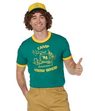 Stranger Things Camp Know Where t shirt