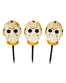 Jason Voorhees Pathway Markers Decorations - Friday the 13th