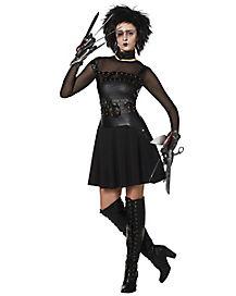 Adult Edward Scissorhands Costume Dress