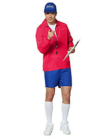 Adult Sports Coach Costume