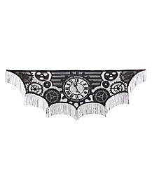 Steampunk Mantle Scarf - Decorations