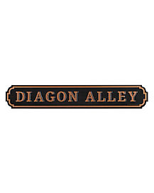 Diagon Alley Sign Decorations - Harry Potter